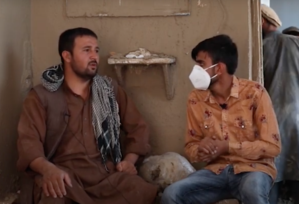 DNI relief effort in Afghanistan